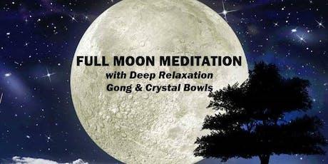 Full Moon Meditation & Sound Bath tickets