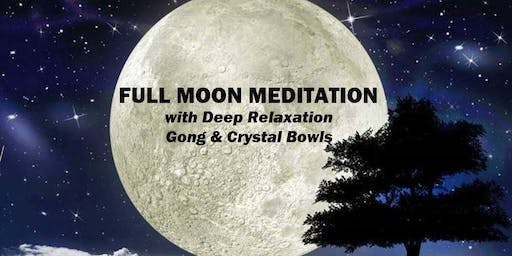 Full Moon Meditation & Sound Bath
