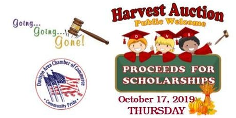 "Harvest ""Scholarship"" Auction  tickets"