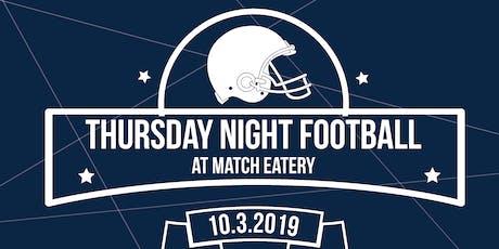 Thursday Night Football with Nedco tickets