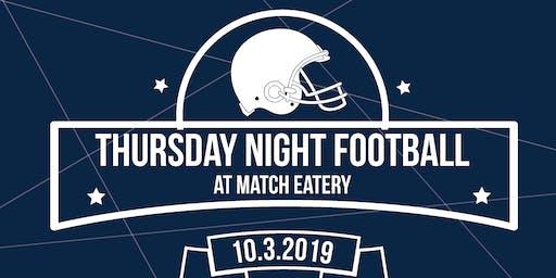 Thursday Night Football with Nedco