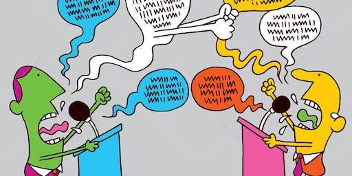 Come smettere di urlare e iniziare ad argomentare - Serata Dimostrativa