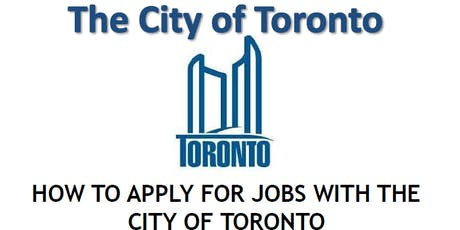 Working for the City of Toronto tickets
