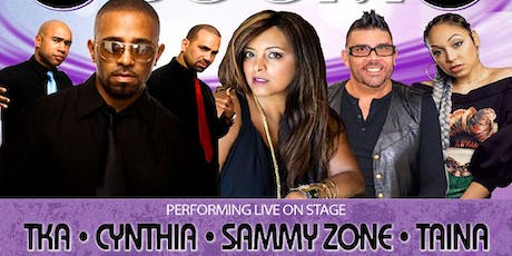 Freestyle Boom With TKA- Cynthia -  Sammy Zone - Taina tickets