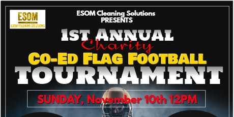 1st Annual Charity Co-ed Flag Football Tournament tickets
