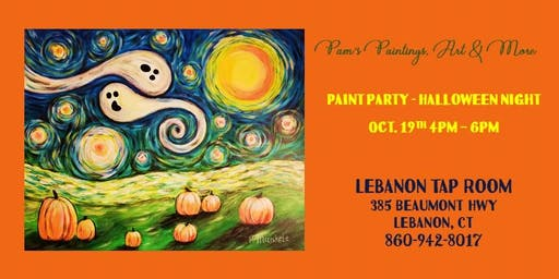 Paint Party - Halloween