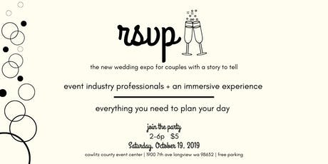 rsvp - the new wedding expo for couples with a story to tell tickets