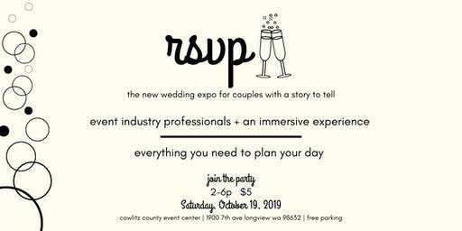 rsvp - the new wedding expo for couples with a story to tell
