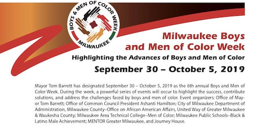 Milwaukee Boys and Men of Color Week-Education and Opening|MATC Cooley Hall