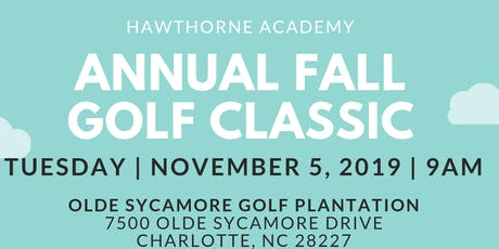 Hawthorne Academy 2019 Fall Golf Classic tickets