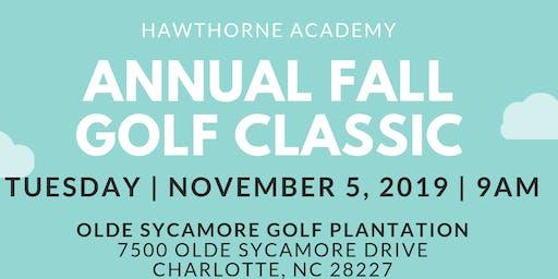 Hawthorne Academy 2019 Fall Golf Classic