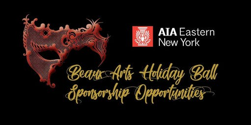 Beaux Arts Holiday Ball Sponsorship Opportunities