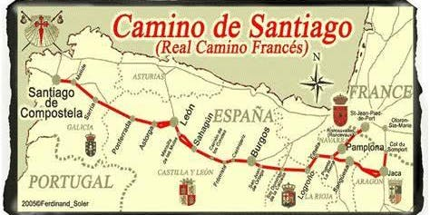 Walking el Camino de Santiago - A physical and transformative experience.