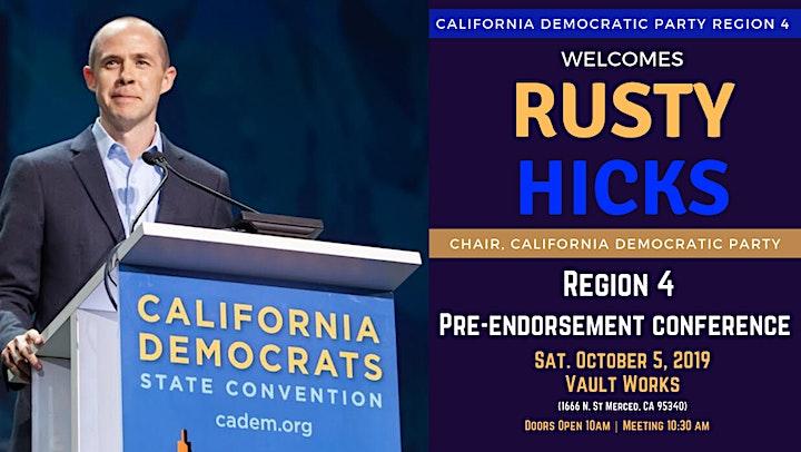 CDP Region 4 Pre-Endorsement Conference image