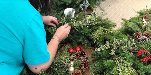 Holiday Wreath Decorating