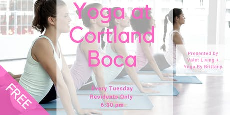 Yoga at Cortland Boca tickets