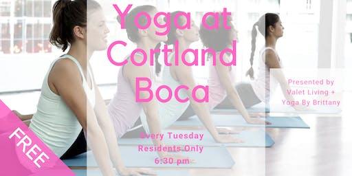 Yoga at Cortland Boca