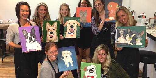 """Paint Your Pet"" Painting & Vino Event"
