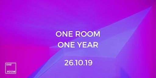 One Room 1 Year Anniversary