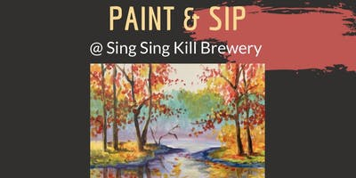 Paint and Sip at Sing Sing Kill Brewery