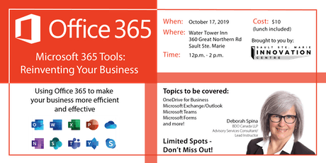 Microsoft 365 Tools: Reinventing Your Business tickets