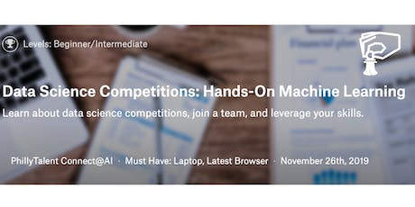 Data Competitions: Hands On Machine Learning November Cohort tickets