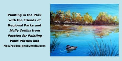 Painting in the Park - Mojave Narrows Regional Park