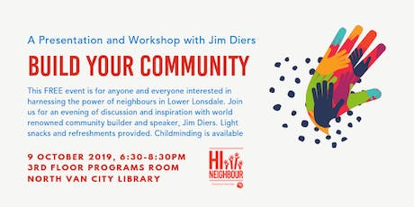 Build Your Community with Jim Diers tickets