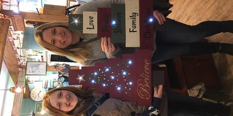 Pallet Christmas Tree Sign Workshop tickets