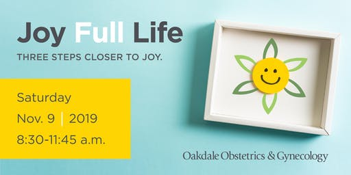 Joy Full Life: What Brings You Joy? (single attendee + one guest)