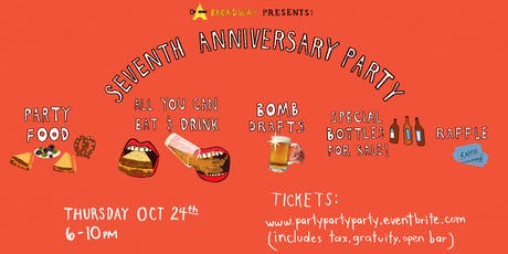 Astoria Bier & Cheese Broadway Seven Year Anniversary Party! tickets
