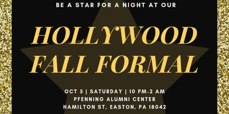 Fall Formal 2019: Classical Hollywood tickets