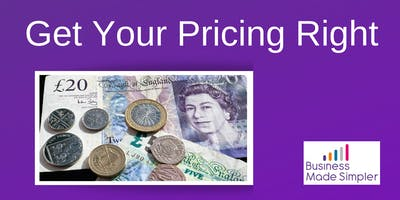 Get Your Pricing Right