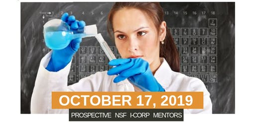 Prospective NSF I-Corp Mentors