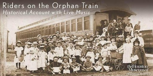 Riders on the Orphan Train, Historical Account with Live Music