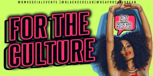 For the Culture: Rooftop Day Party FREE! ( Vendors Wanted )