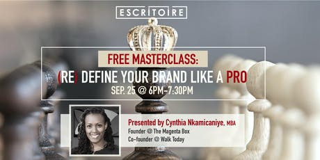 (RE)DEFINE YOUR BRAND LIKE A PRO tickets