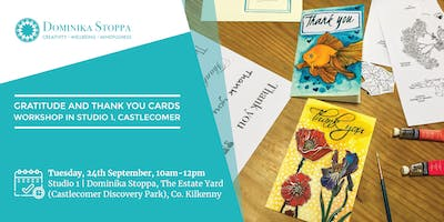 Gratitude and Thank You Cards Workshop
