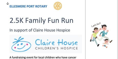 Rotary Club Family Fun Run in aid of Claire House. tickets
