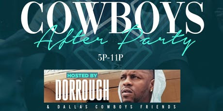 Sette Sunday's presents Cowboys After Party hosted by Dorrough @ One Sette {Sunday Funday Meets Uptown} tickets