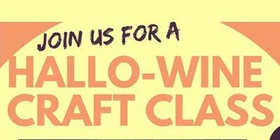 Hallo-Wine Craft Class