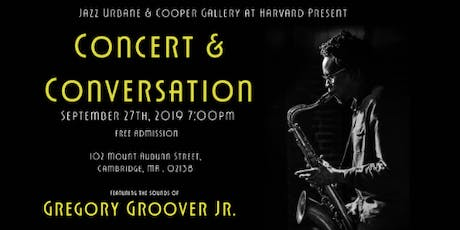 Concert & Conversation at the Cooper Gallery tickets