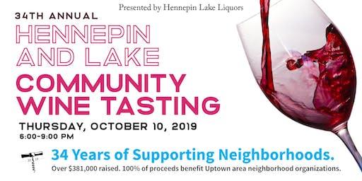 2019 Hennepin and Lake Community Wine Tasting Fundraiser