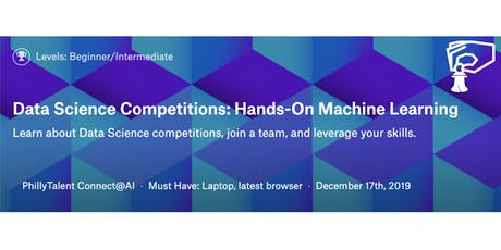 Data Competitions: Hands On Machine Learning December Cohort tickets