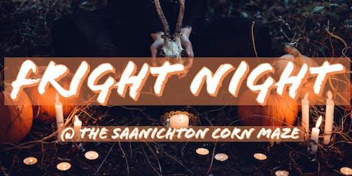 FRIGHT NIGHT @ Saanichton Corn Maze