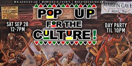 Pop-Up For the Culture: Black Business Expo & Day Party ( Vendors Wanted ) 93.9 WKYS DJ Gemini tickets