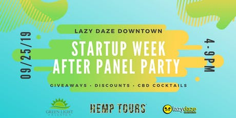 ATX Startup Week After Panel Party tickets