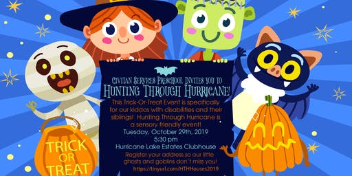 Hunting Through Hurricane House Registration 2019