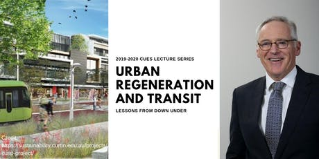 Urban Regeneration and Transit--Lessons from Down Under tickets