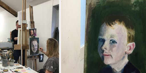 Registration Tuesday Evenings Oil Painting 8 Week- Course